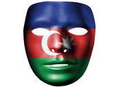 The Azerbaijani flag — Stock Photo