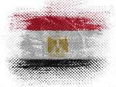 The Egyptian flag — Photo