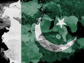 пакистанские флаг — Стоковое фото