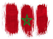 The Moroccan flag — Stock Photo