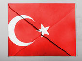 The Turkish flag — Photo