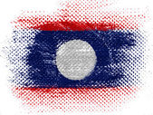 The Laotian flag — Photo