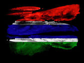 The Gambia Flag — Photo