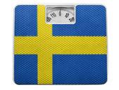 瑞典国旗 — 图库照片