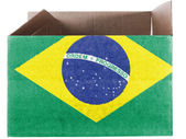 The Brazilian flag — Photo