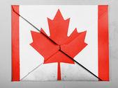 加拿大国旗 — 图库照片