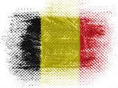 бельгийский флаг — Стоковое фото