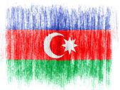 阿塞拜疆国旗 — 图库照片