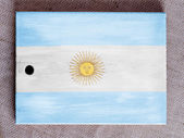 The Argentine flag — Photo