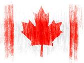 Le drapeau canadien — Photo