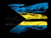 The Bahamas flag — Stock Photo