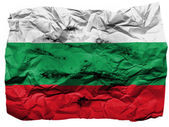 The Bulgarian flag — Foto de Stock