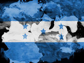 The Honduran flag — Photo