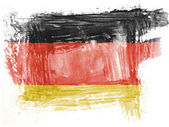The German flag — Photo