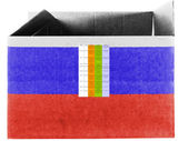 The Russian flag — Photo