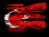 The Turkish flag — Photo