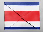 флаг коста-рика — Стоковое фото