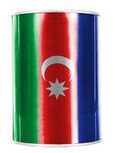 The Azerbaijani flag — Photo