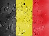 The Belgian flag — Stock Photo