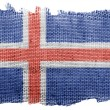 The Icelandic flag — Stock Photo #23430414