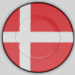 Danish flag — Stock Photo #23430438