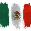 The Mexican flag — Stock Photo #23431352