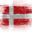 Danish flag — Stock Photo #23431368