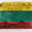 The Lithuanian flag - Foto Stock