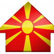 Macedonia flag — Stock Photo #23432976
