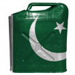 Pakistani flag — Stockfoto #23433176