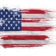 der usa-flagge — Stockfoto #23433382
