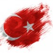 The Turkish flag — Stock Photo #23433510