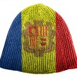 Royalty-Free Stock Photo: Andorra flag painted on cap