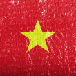 Stock Photo: Vietnamese flag