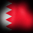 Stock Photo: Bahrain. Bahraini flag