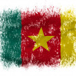 The Cameroonian flag - Stock Photo