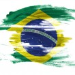 Braziliflag — Stock Photo #23437260