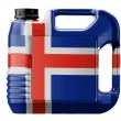 Icelandic flag — Stock Photo #23437376