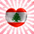 Lebanese flag — Stock Photo #23438090