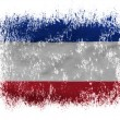 The Serbia and Montenegro flag - Foto de Stock