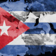 The Cuban flag - Stok fotoğraf