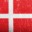 Danish flag — Stock Photo #23438822