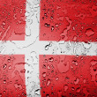 Danish flag — Stock Photo #23438860