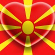 Macedonia flag — Stock Photo #23439688