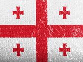 De Georgische vlag — Stockfoto