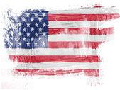 Bandiera usa — Foto Stock
