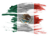 The Mexican flag — Photo