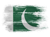 Flaga pakistanu — Zdjęcie stockowe