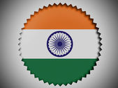 The Indian flag — Stock Photo