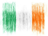 The irish flag — Stock fotografie